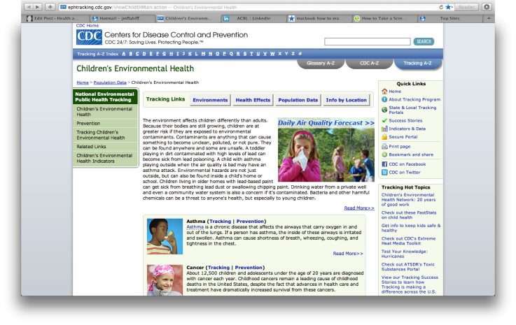 Centers for Disease Control and Prevention « Health and