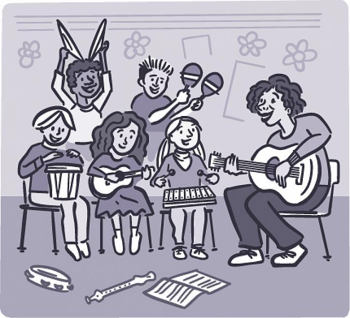 illustration-classroom-kids-playing-music