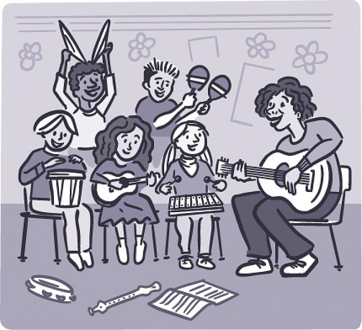 illustration-classroom-kids-playing-music